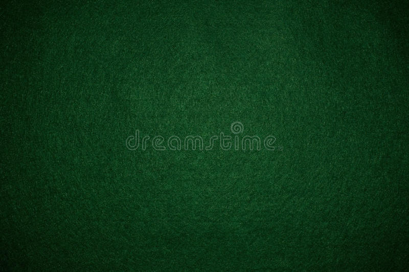 Green poker background royalty free stock images