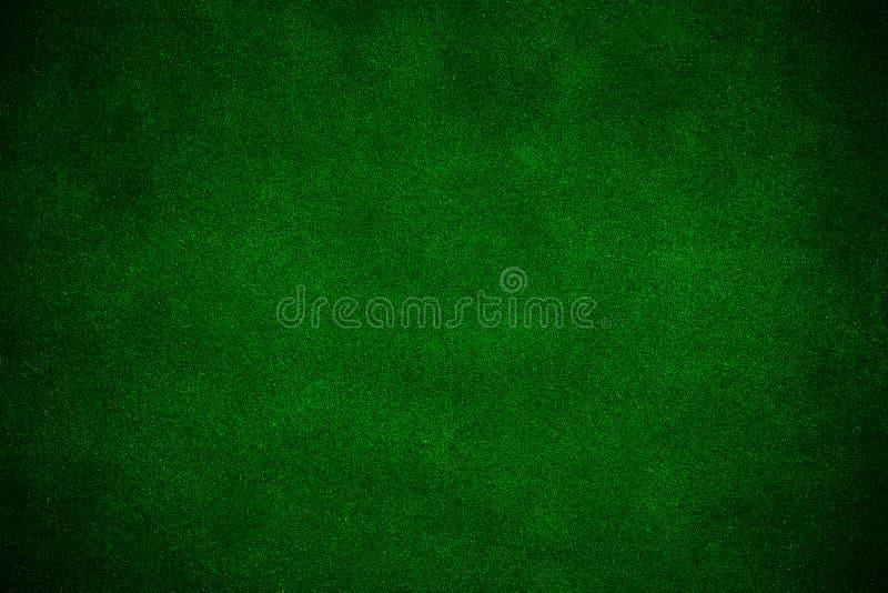 Green poker background stock photo