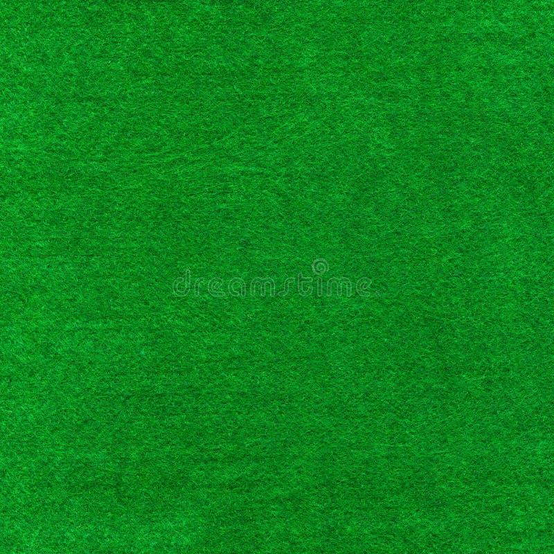 Green Poker Card Table Cloth Macro Close Up Stock