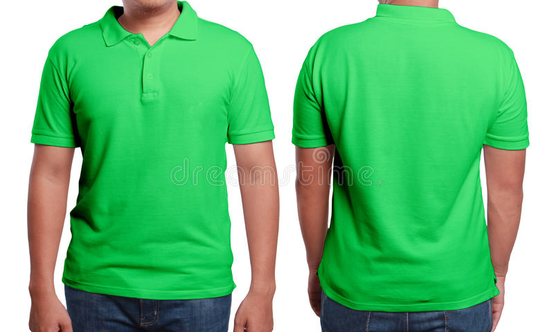 Green Polo Shirt Design Template Stock Image - Image of ...