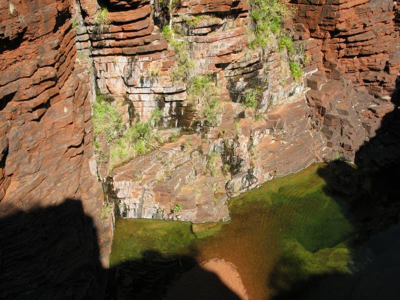 Green Pond In Karijini National Park Royalty Free Stock Image