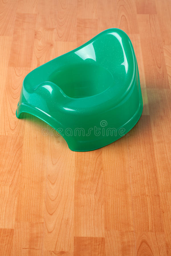 Green potty stock photography