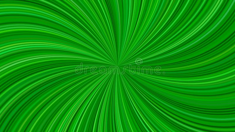 Green psychedelic abstract striped spiral background design from swirling rays. Green psychedelic abstract striped spiral background design - vector graphic from royalty free illustration