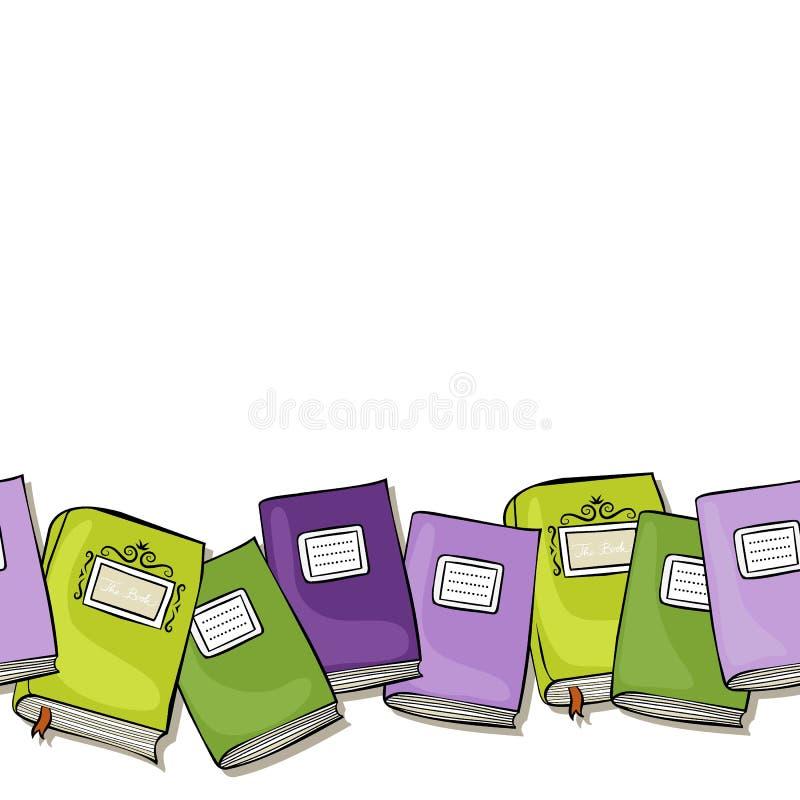 Books Border - Books Border Design Clipart , Free Transparent Clipart -  ClipartKey