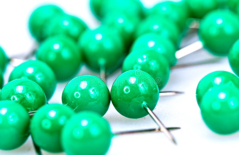Download Green Pushpin stock image. Image of business, memo, needle - 23081149