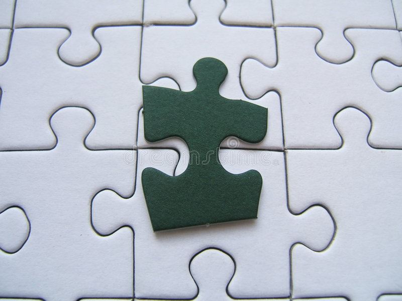Download Green Puzzle Piece Stock Photos - Image: 331653
