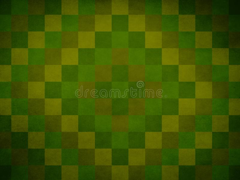 Green Quilt Pattern Background which is Perfect for Slide Show P stock photo