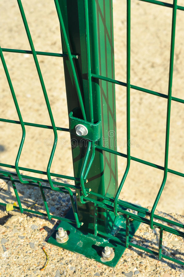 Download Green Railings Detail stock image. Image of safety, spring - 43436321