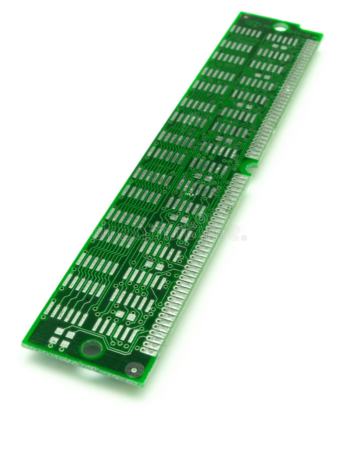 Download Green RAM 01 stock photo. Image of memory, cords, circuits - 187540