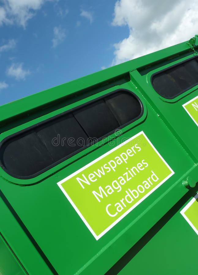 Green recycling stock images
