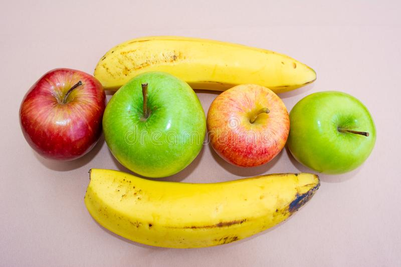 Fruits on the table royalty free stock photography