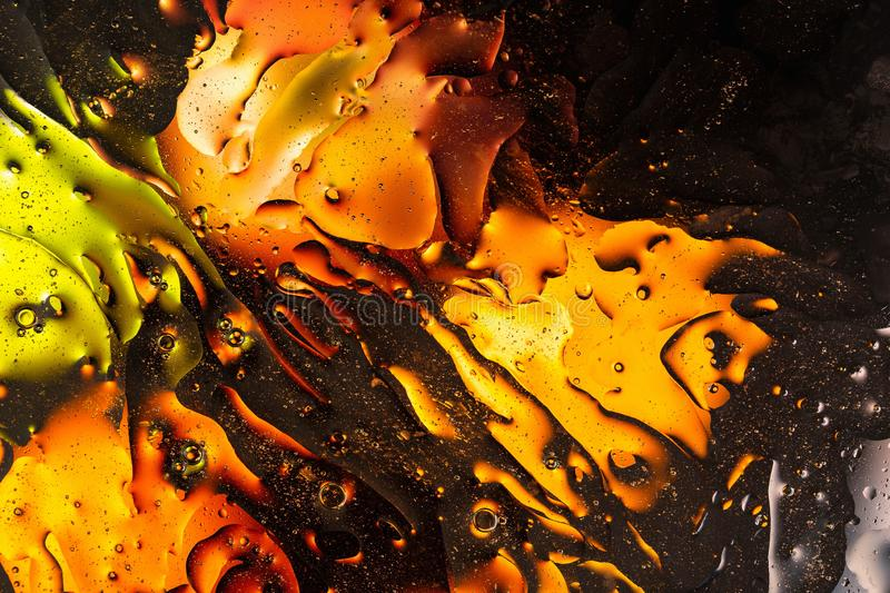 Green, red, blue, orange, black, yellow colorful abstract design, texture. Beautiful backgrounds. stock image