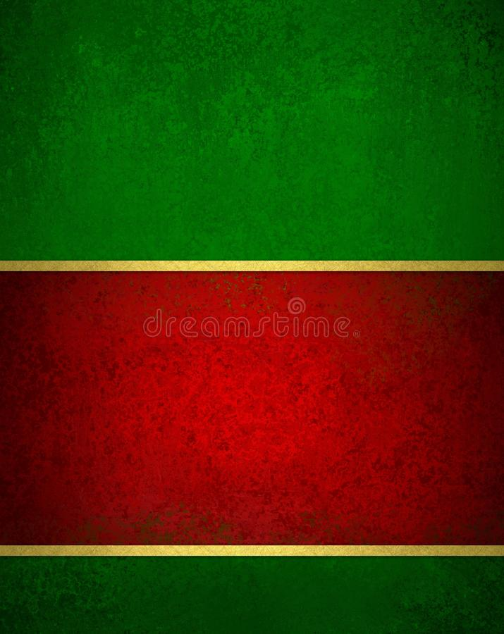 Free Green Red Christmas Background With Vintage Texture And Gold Trim Accent Christmas Ribbon Royalty Free Stock Photo - 44083575
