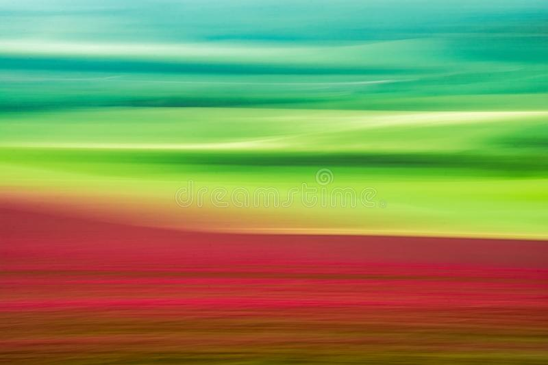 Green and Red Field abstract royalty free stock photos