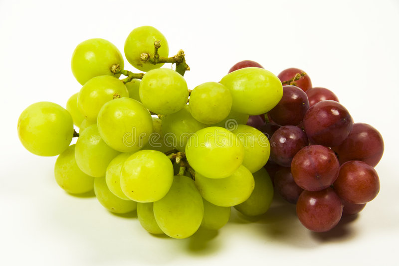Download Green and red grapes stock image. Image of fruit, grapes - 7655529