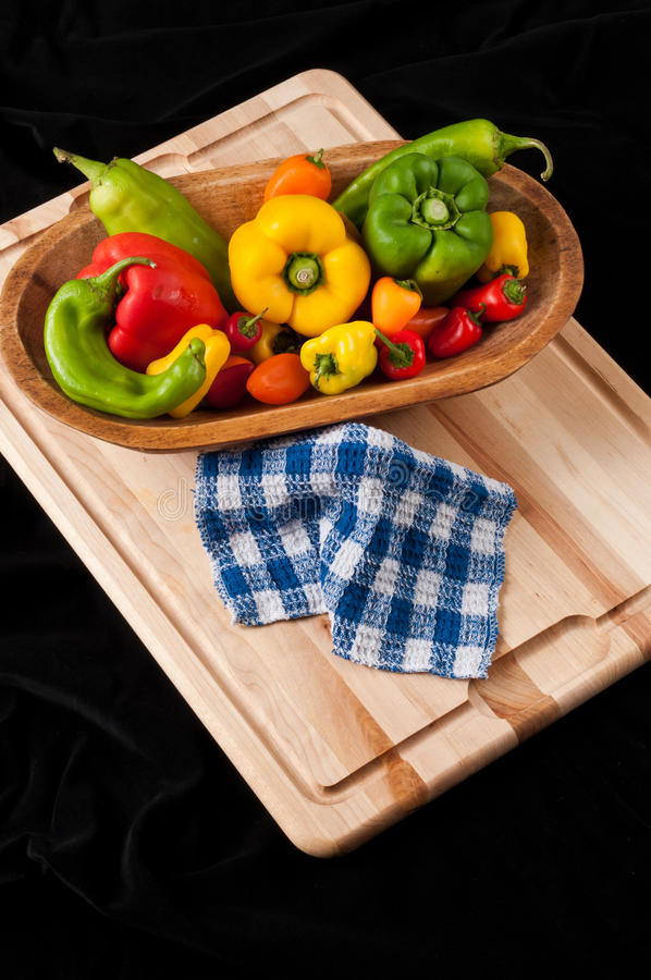 Download Green, Red And Yellow Peppers Royalty Free Stock Photo - Image: 26516835