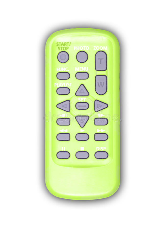 Download Green remote controller stock photo. Image of program - 10321380