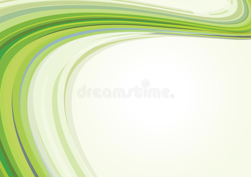 Green retro card. Abstract retro green background. Vector vector illustration