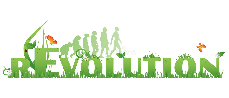 Green REvolution Royalty Free Stock Image