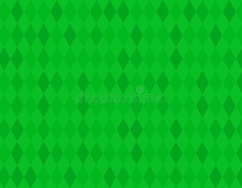 Download Green rhombus background stock illustration. Image of soft - 8018144