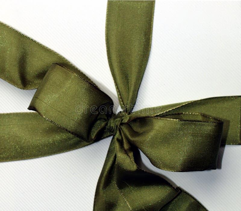 Green Ribbon Stock Photography