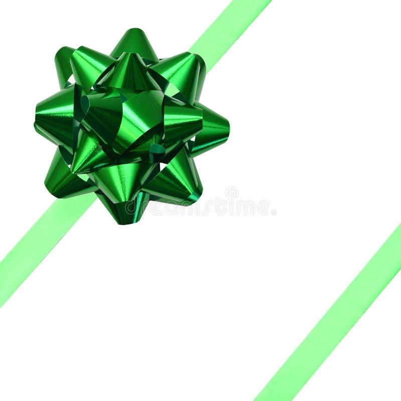 Green ribbon stock illustration