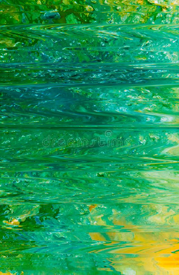 Green ripple water surface abstract art background royalty free stock image