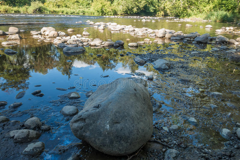 Green River бежать низко 4 стоковые фото