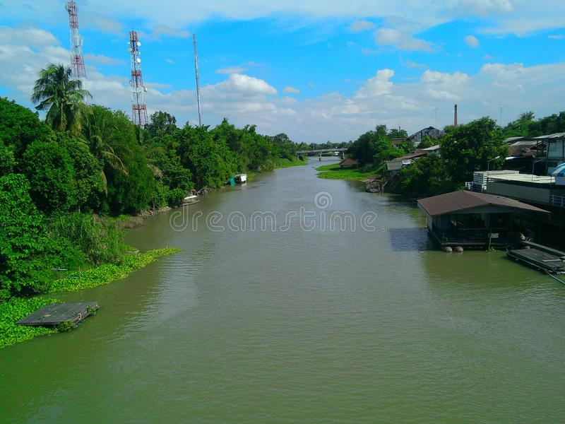 It green. River is green stock images