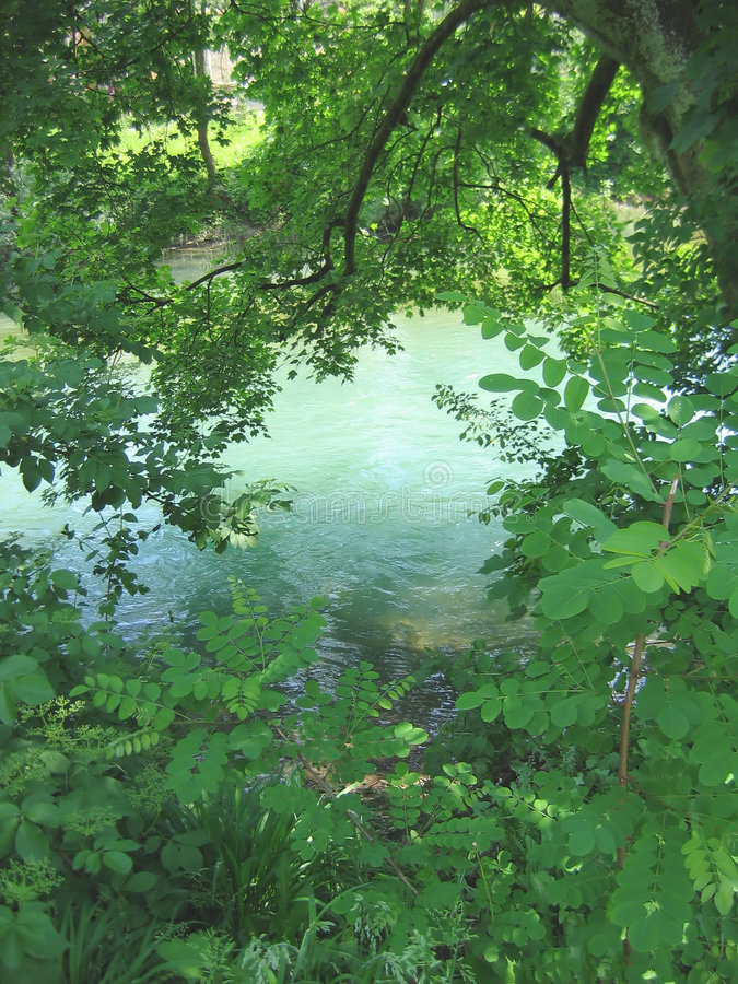 Green River royaltyfria bilder