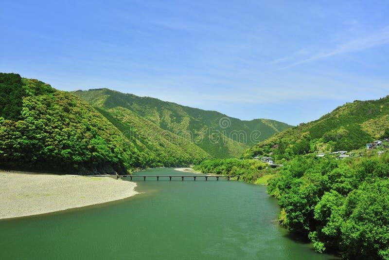 Green River em Japão imagem de stock royalty free