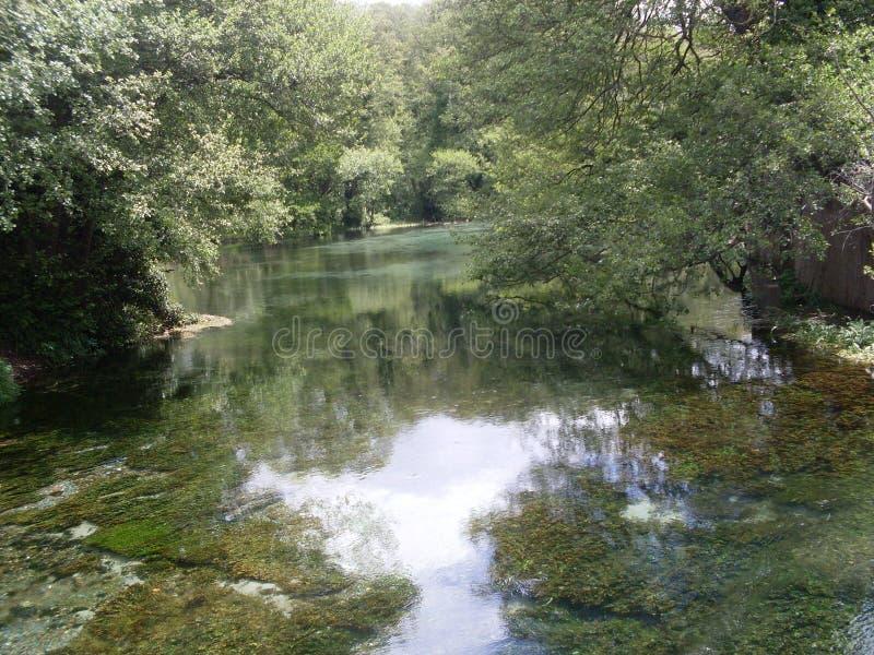 Green River místico foto de stock royalty free