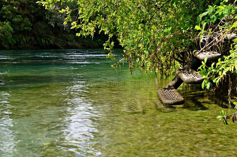 Green River, Waikato, New Zealand royalty free stock images