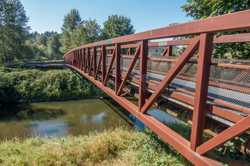 Green River Walking Bridge 2 royalty free stock image