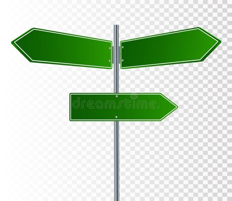 Road Sign Vector stock illustration