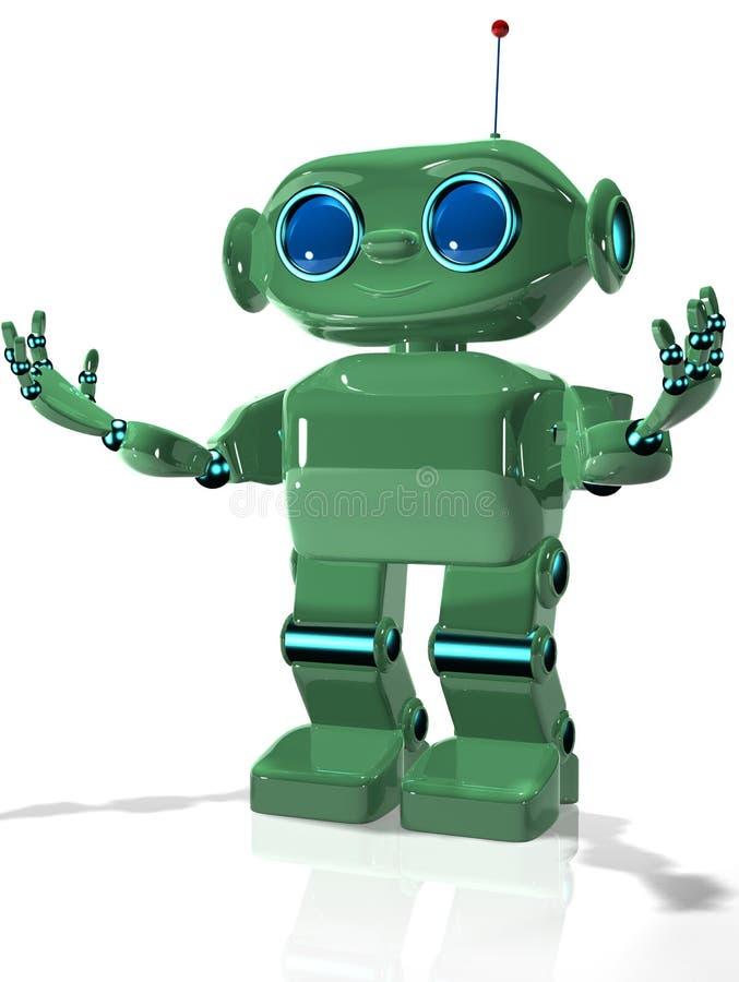 Green robot 2