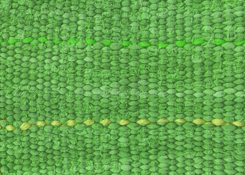 Green row cloth royalty free stock photos