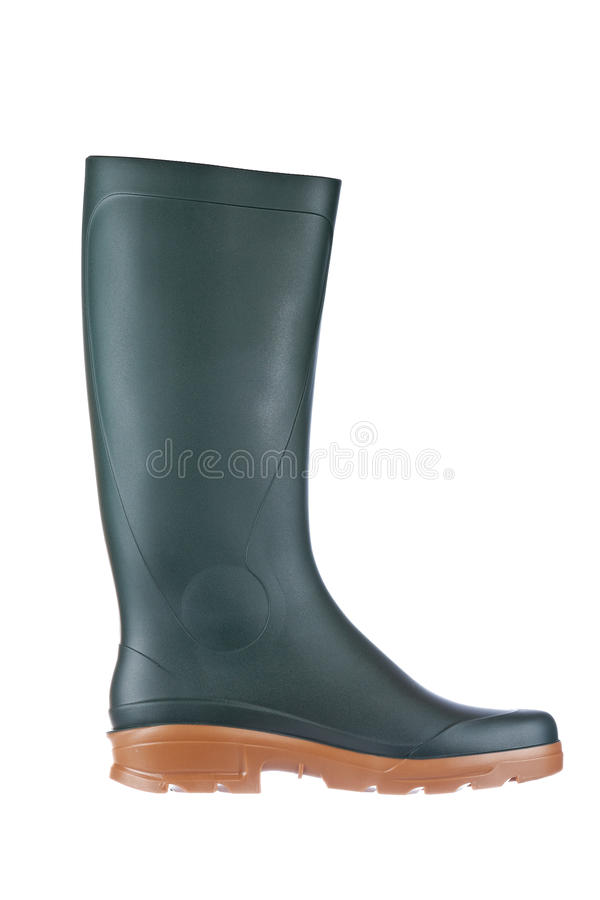 Free Green Rubber Boot Royalty Free Stock Photos - 13158778