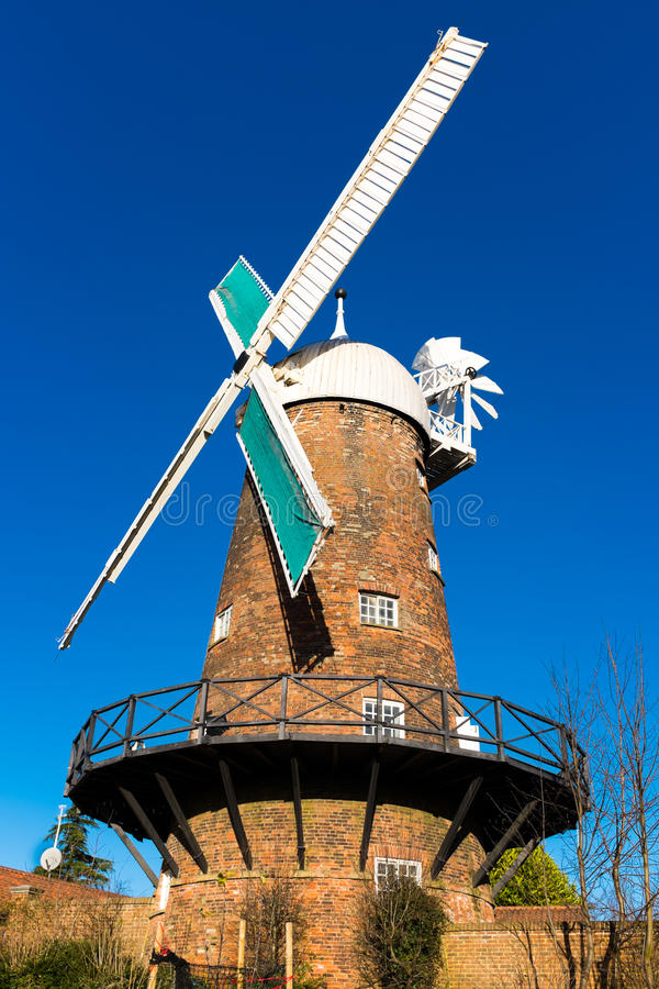 Green S Windmill In Sneinton Editorial Stock Image