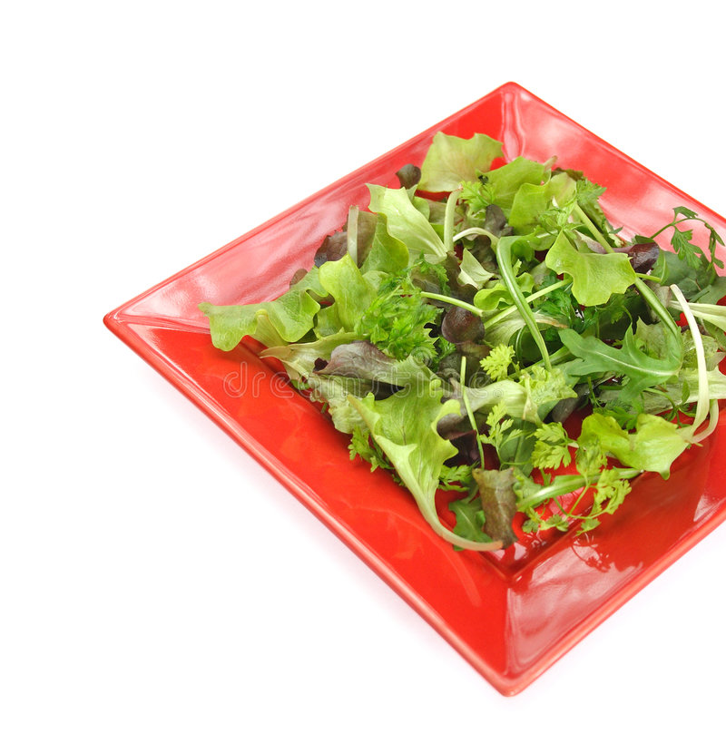 Green salad royalty free stock images