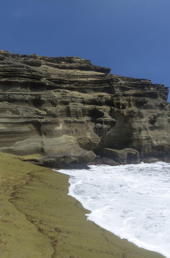 Download Green Sand Beach, Hawaii stock photo. Image of island - 25902712