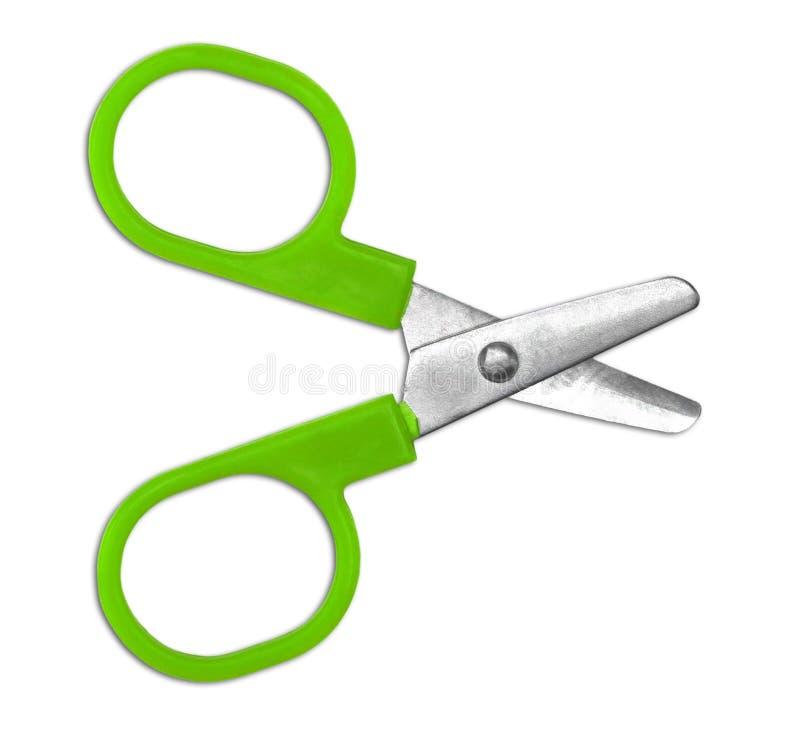 Download Green scissors isolated stock image. Image of steel, scissors - 39504599