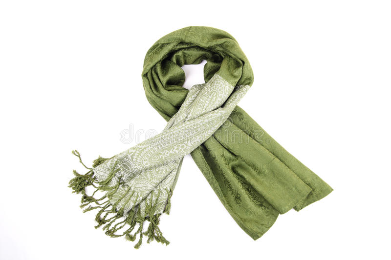 Download Green scraf stock photo. Image of isolated, fabric, scarf - 21302442