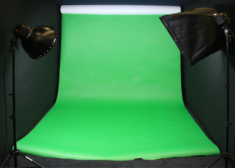 how to add an image to a green screen