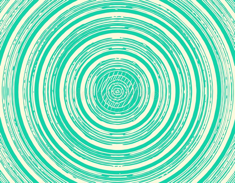 Green seamless circle background. Green seamless abstract circle background royalty free illustration