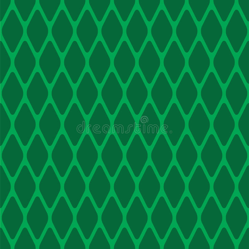 Green seamless rhomb
