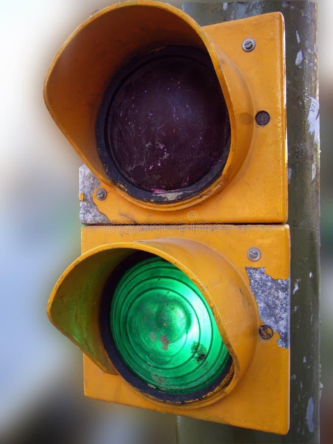 Free Green Semaphore Stock Photography - 747732