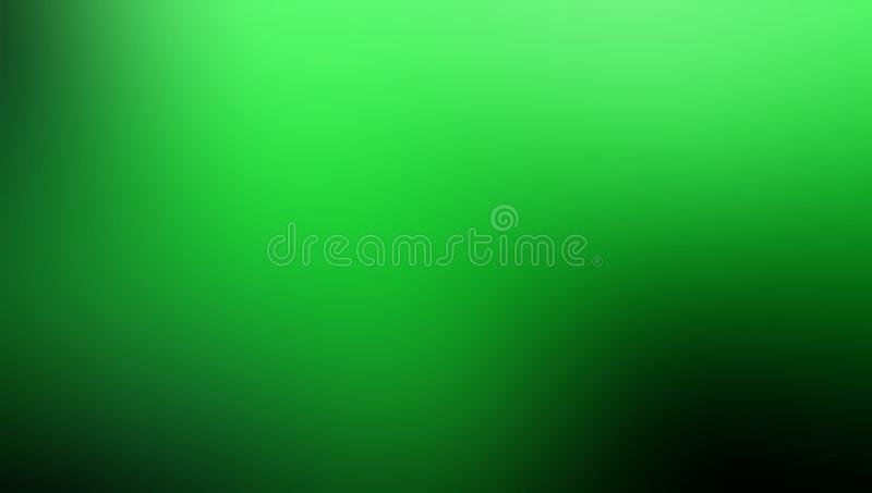 Green shaded blur abstract background vector design, colorful blurred shaded background, vivid color vector illustration. stock illustration