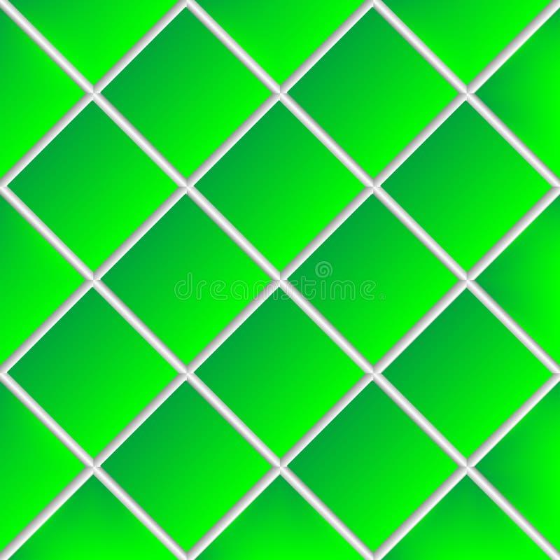 Download Green Shadowed Ceramic Tiles Stock Vector - Illustration: 13198567