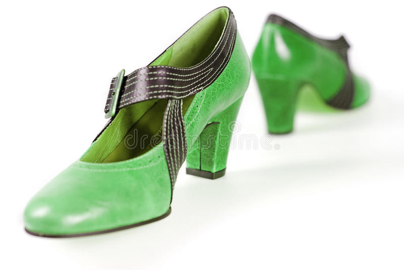 Download Green shoes stock photo. Image of buckle, elegance, lifestyle - 14002028